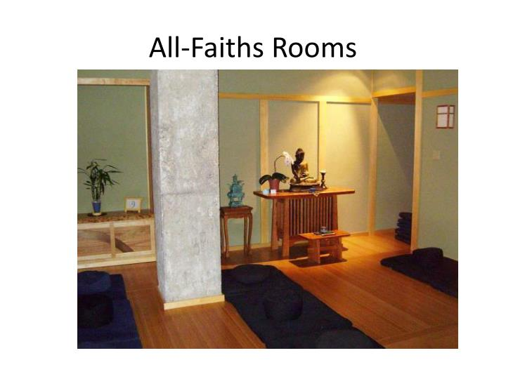 All-Faiths Rooms