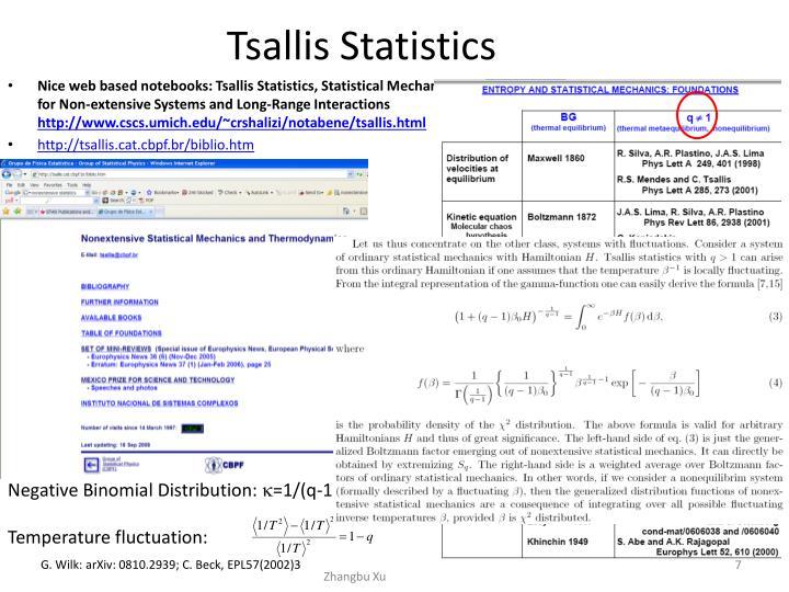Tsallis