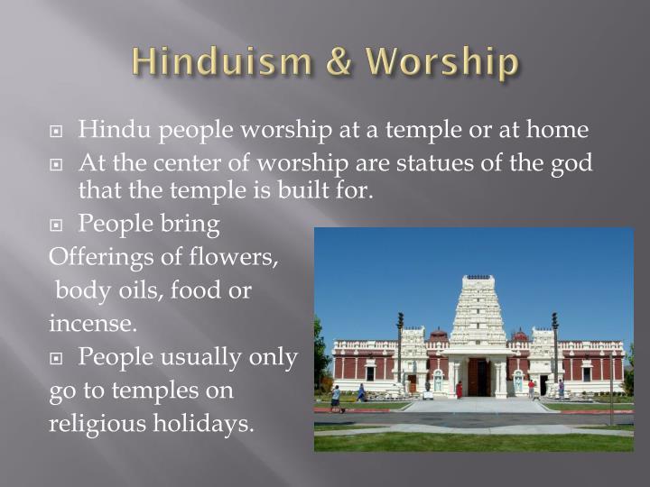 Hinduism & Worship