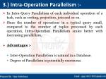 3 intra operation parallelism