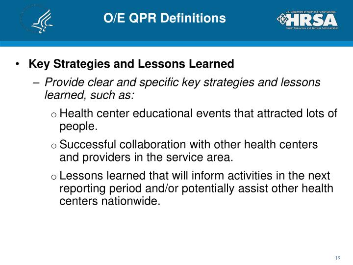 O/E QPR