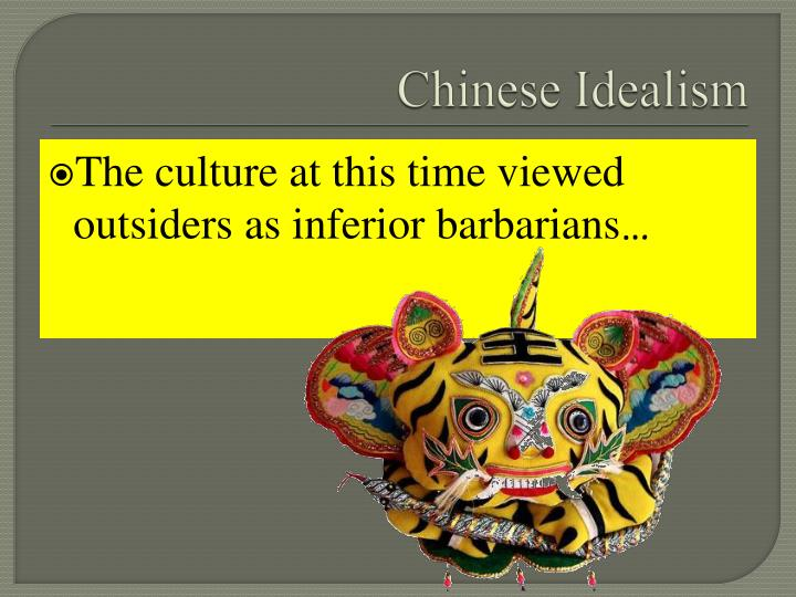 Chinese Idealism