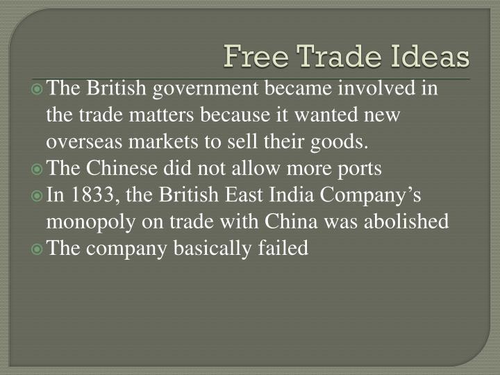 Free Trade Ideas