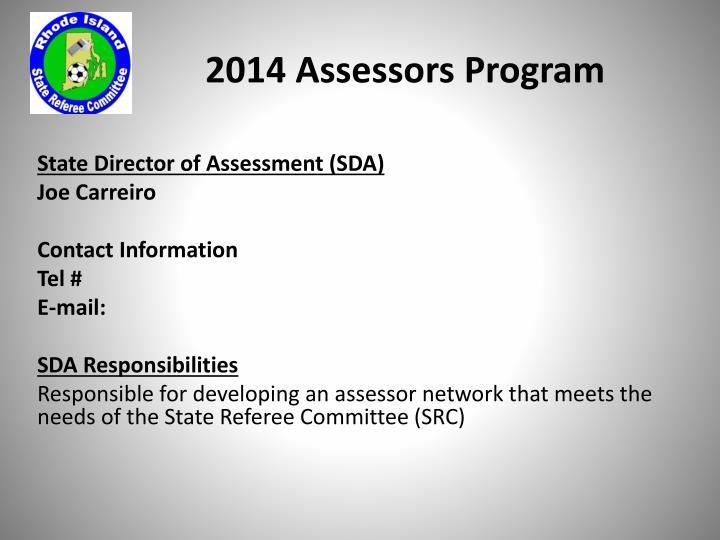 2014 Assessors Program