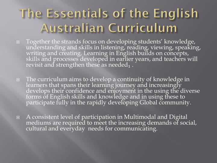 ppt - year 4 australian curriculum english powerpoint presentation