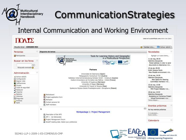 CommunicationStrategies