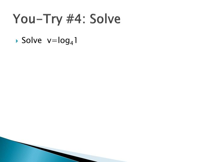 You-Try #4: Solve