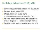 st robert bellarmine 1542 1621