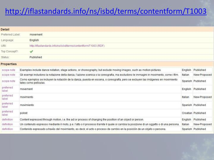 http://iflastandards.info/ns/isbd/terms/contentform/T1003