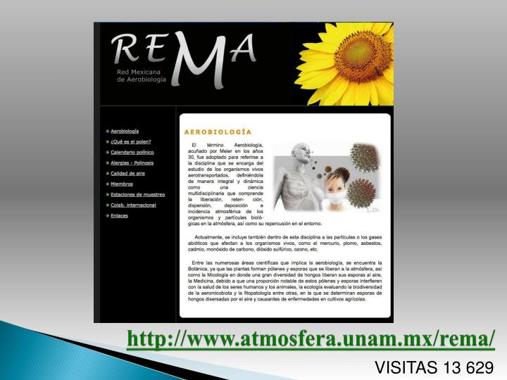 http://www.atmosfera.unam.mx/rema/