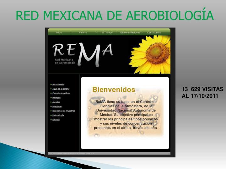 RED MEXICANA DE AEROBIOLOGÍA