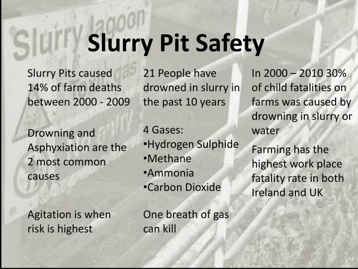 Slurry Pit Safety