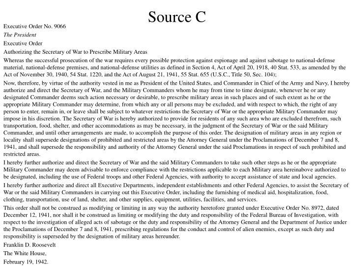 Source C