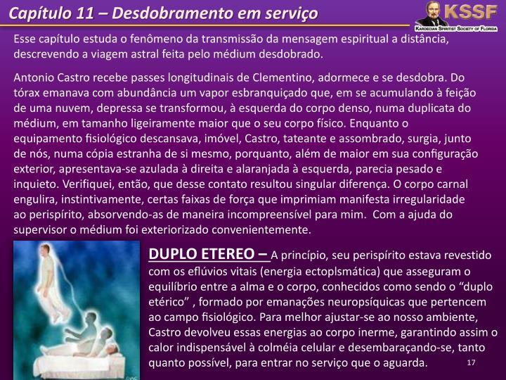 Capítulo 11 – Desdobramento em serviço