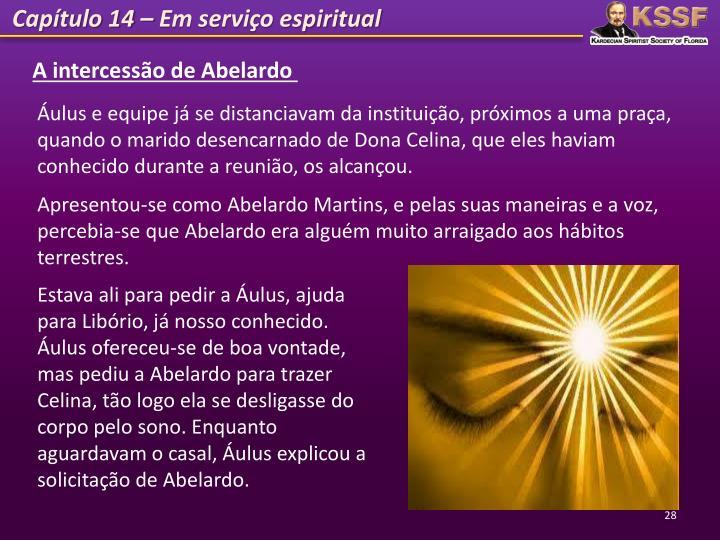 Capítulo 14 – Em serviço espiritual