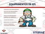 equipamentos de epi