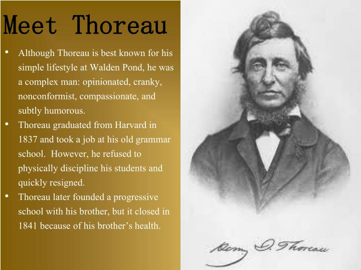 Meet Thoreau