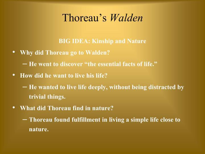 Thoreau's