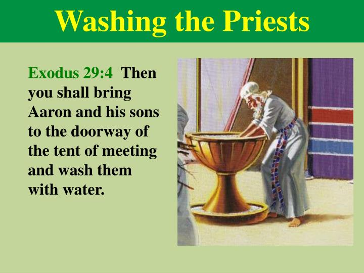 Washing the Priests