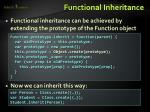 functional inheritance1