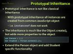 prototypal inheritance1