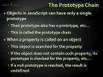 the prototype chain1