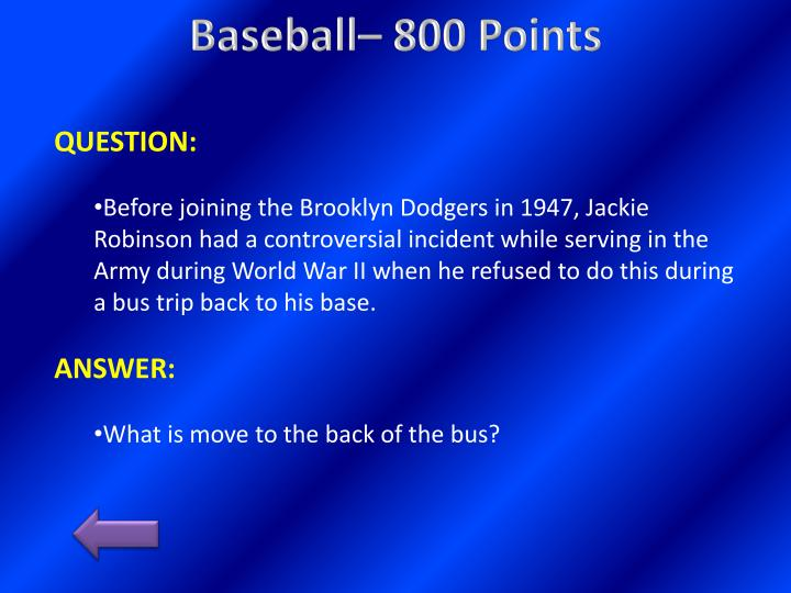 Baseball– 800