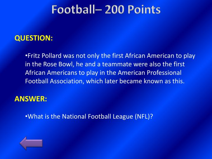 Football– 200