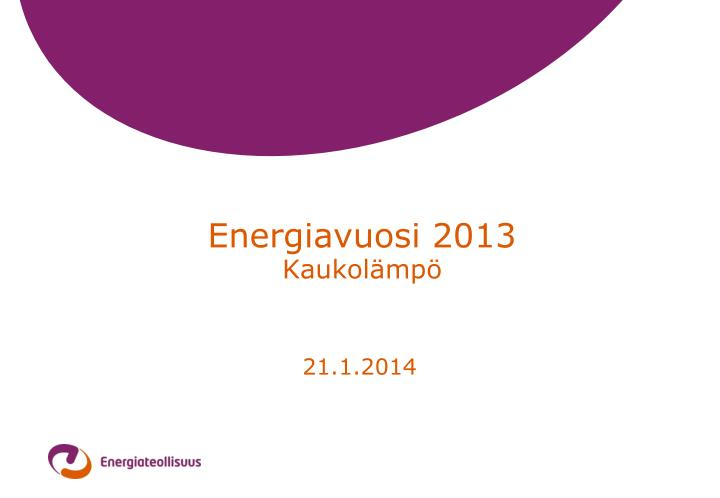 energiavuosi 2013 kaukol mp
