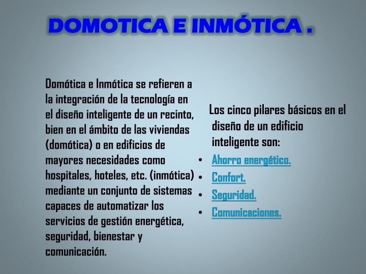 DOMOTICA E
