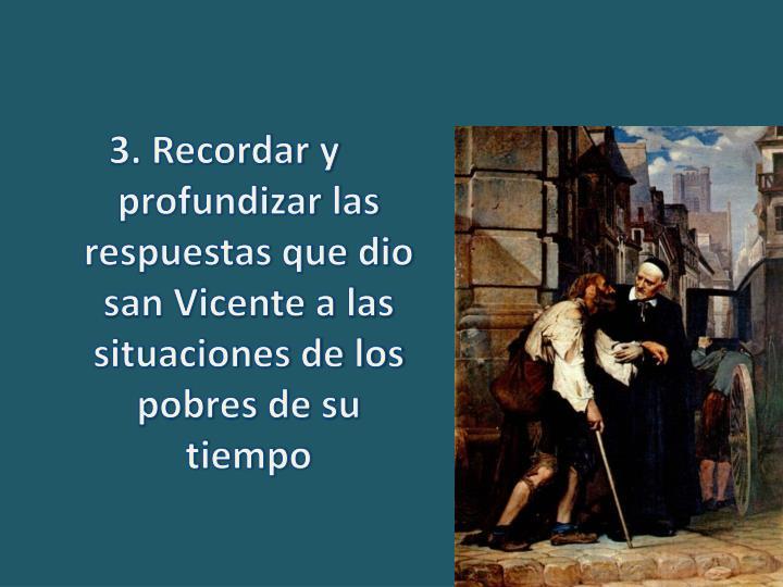 3. Recordar