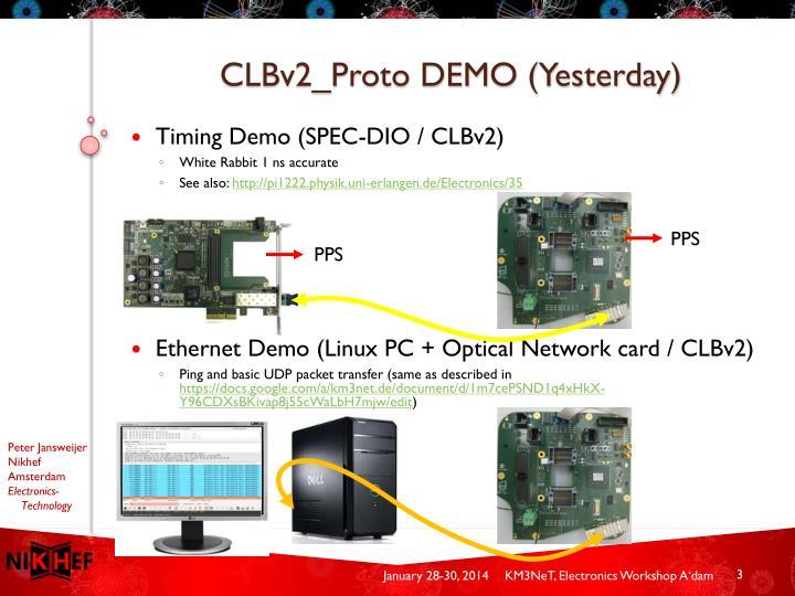 CLBv2_Proto DEMO (Yesterday)