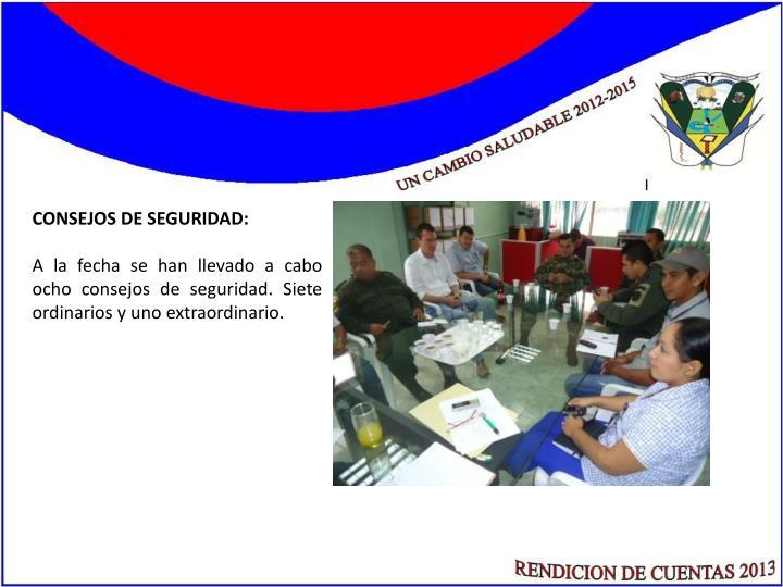 CONSEJOS DE SEGURIDAD: