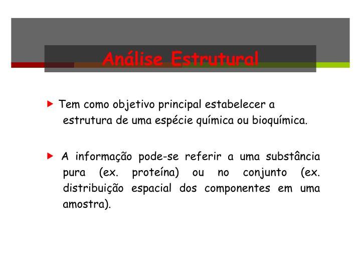 Análise Estrutural