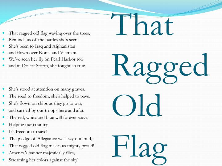 That Ragged Old Flag