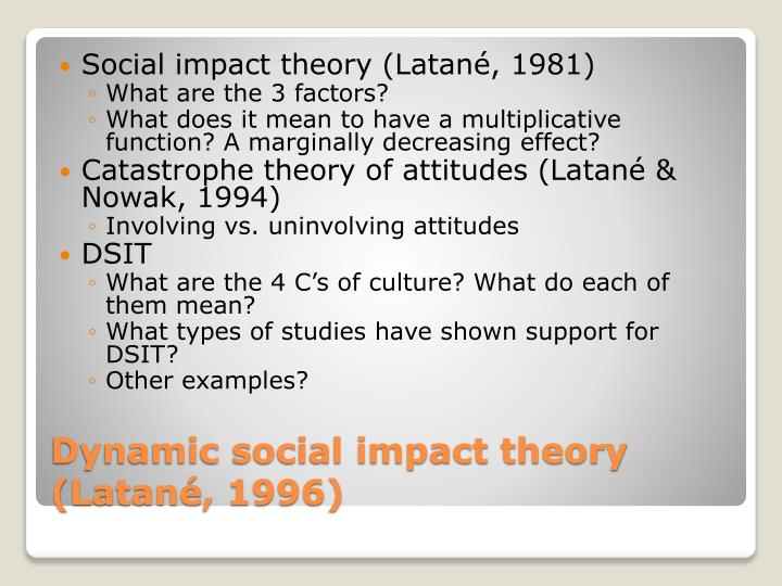 Social impact theory (
