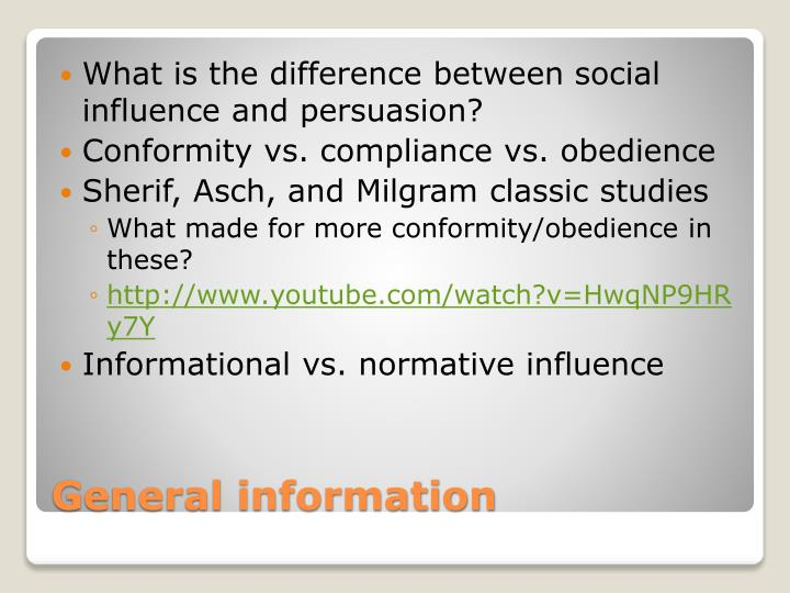 What is the difference between social influence and persuasion?