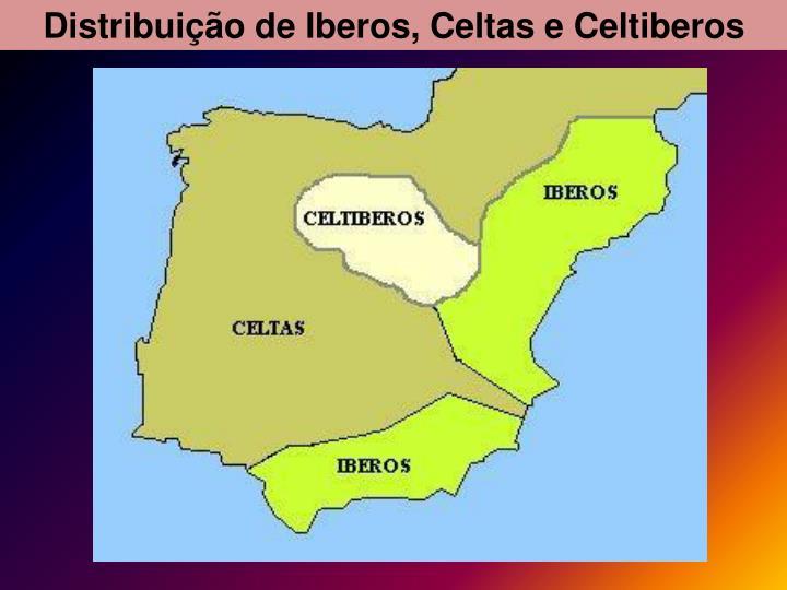 Distribuio de Iberos, Celtas e Celtiberos