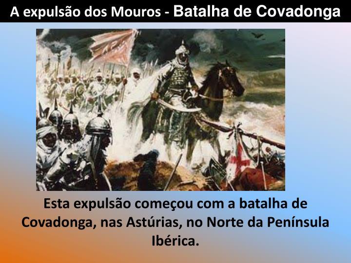 A expulso dos Mouros -