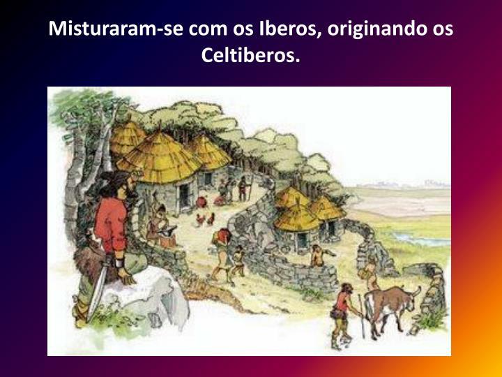Misturaram-se com os Iberos, originando os Celtiberos.
