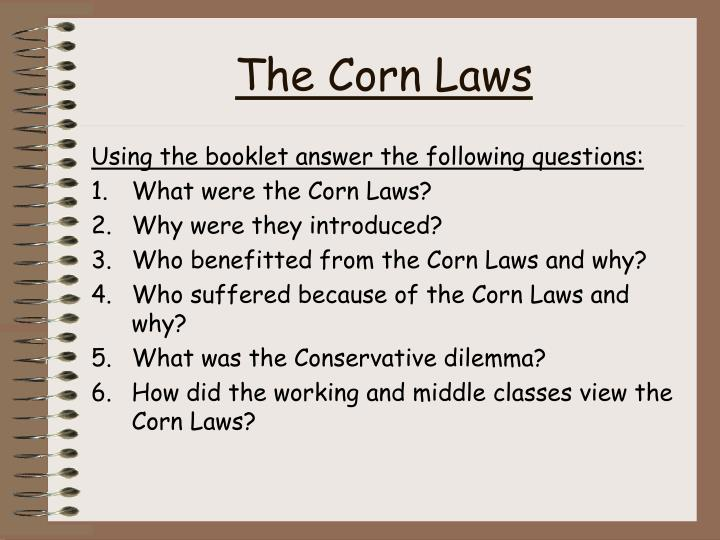 The Corn Laws