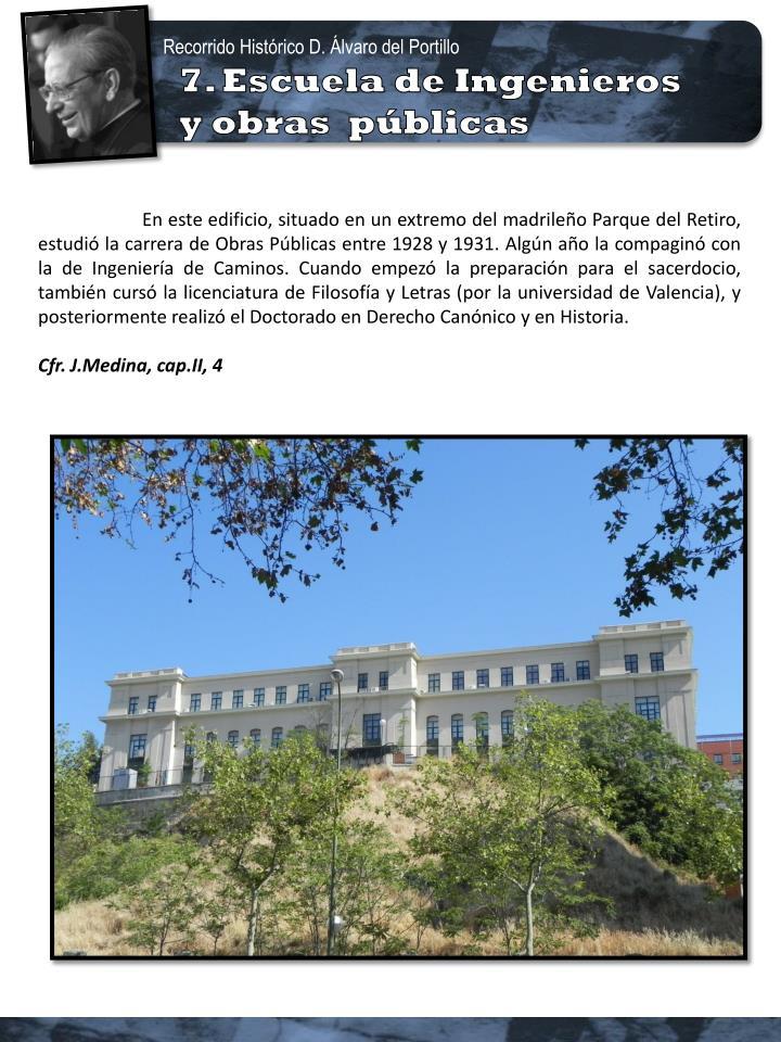 Recorrido Histórico D. Álvaro del Portillo