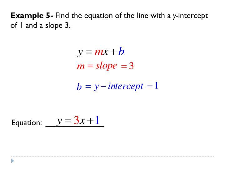 Example 5-