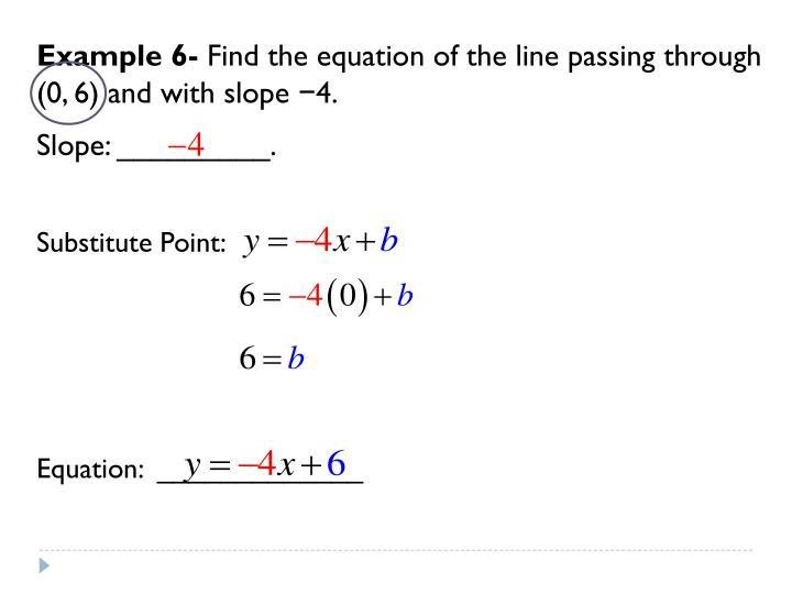 Example 6-