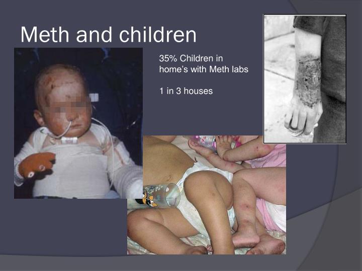Meth and children