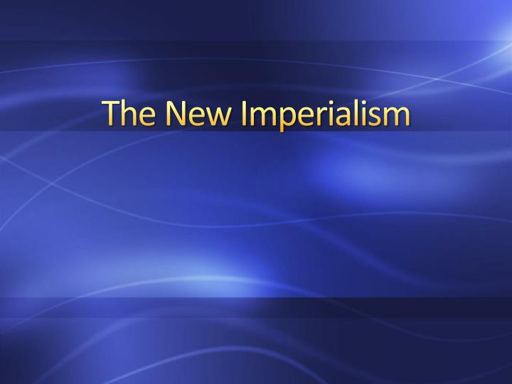 new imperialism thematic essay And rating guide for part ii (thematic essay) scoring the  new york  state education department's web site during the rating period visit the site   select one country that engaged in imperialism since 1500 and.