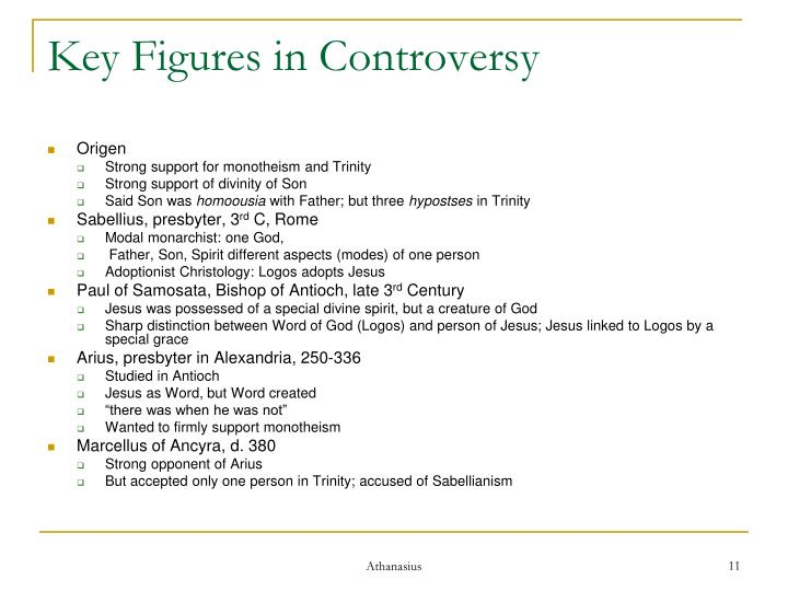 Key Figures in Controversy