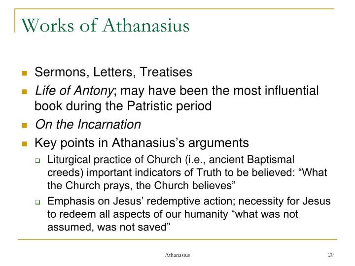 Works of Athanasius