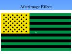 afterimage effect