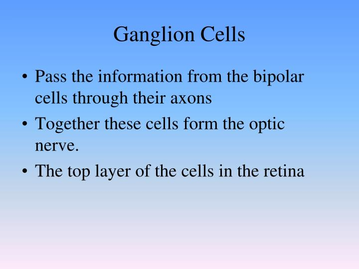 Ganglion Cells